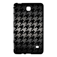 Houndstooth1 Black Marble & Gray Metal 1 Samsung Galaxy Tab 4 (7 ) Hardshell Case