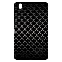 Scales1 Black Marble & Gray Metal 1 Samsung Galaxy Tab Pro 8 4 Hardshell Case by trendistuff