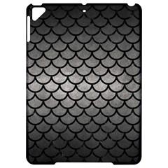 Scales1 Black Marble & Gray Metal 1 (r) Apple Ipad Pro 9 7   Hardshell Case