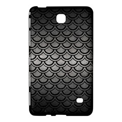 Scales2 Black Marble & Gray Metal 1 (r) Samsung Galaxy Tab 4 (7 ) Hardshell Case  by trendistuff