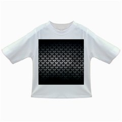 Scales3 Black Marble & Gray Metal 1 (r) Infant/toddler T Shirts by trendistuff