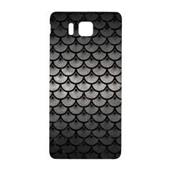 Scales3 Black Marble & Gray Metal 1 (r) Samsung Galaxy Alpha Hardshell Back Case by trendistuff