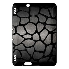 Skin1 Black Marble & Gray Metal 1 Kindle Fire Hdx Hardshell Case by trendistuff