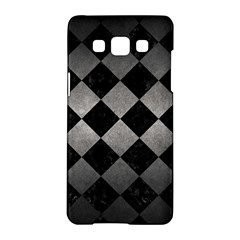 Square2 Black Marble & Gray Metal 1 Samsung Galaxy A5 Hardshell Case  by trendistuff