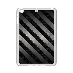 Stripes3 Black Marble & Gray Metal 1 (r) Ipad Mini 2 Enamel Coated Cases by trendistuff