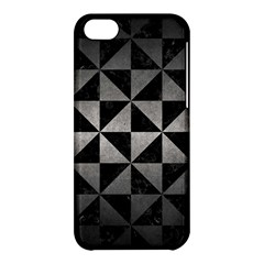 Triangle1 Black Marble & Gray Metal 1 Apple Iphone 5c Hardshell Case by trendistuff