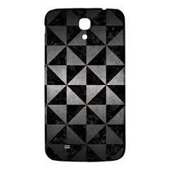 Triangle1 Black Marble & Gray Metal 1 Samsung Galaxy Mega I9200 Hardshell Back Case by trendistuff