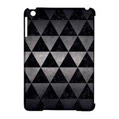 Triangle3 Black Marble & Gray Metal 1 Apple Ipad Mini Hardshell Case (compatible With Smart Cover) by trendistuff