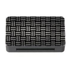 Woven1 Black Marble & Gray Metal 1 Memory Card Reader With Cf by trendistuff