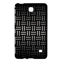 Woven1 Black Marble & Gray Metal 1 Samsung Galaxy Tab 4 (7 ) Hardshell Case  by trendistuff
