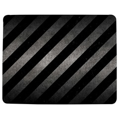 Stripes3 Black Marble & Gray Metal 1 Jigsaw Puzzle Photo Stand (rectangular) by trendistuff