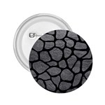 SKIN1 BLACK MARBLE & GRAY LEATHER 2.25  Buttons
