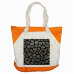 SKIN1 BLACK MARBLE & GRAY LEATHER Accent Tote Bag