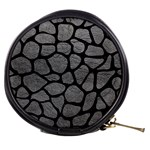 SKIN1 BLACK MARBLE & GRAY LEATHER Mini Makeup Bags