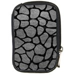 SKIN1 BLACK MARBLE & GRAY LEATHER Compact Camera Cases