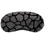 SKIN1 BLACK MARBLE & GRAY LEATHER Sleeping Masks