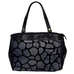 SKIN1 BLACK MARBLE & GRAY LEATHER Office Handbags