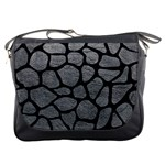 SKIN1 BLACK MARBLE & GRAY LEATHER Messenger Bags