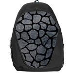 SKIN1 BLACK MARBLE & GRAY LEATHER Backpack Bag