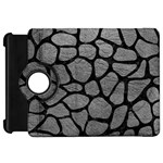 SKIN1 BLACK MARBLE & GRAY LEATHER Kindle Fire HD 7