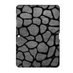 SKIN1 BLACK MARBLE & GRAY LEATHER Samsung Galaxy Tab 2 (10.1 ) P5100 Hardshell Case