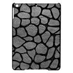 SKIN1 BLACK MARBLE & GRAY LEATHER iPad Air Hardshell Cases