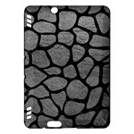 SKIN1 BLACK MARBLE & GRAY LEATHER Kindle Fire HDX Hardshell Case