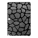 SKIN1 BLACK MARBLE & GRAY LEATHER Samsung Galaxy Tab Pro 10.1 Hardshell Case