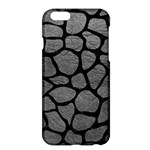 SKIN1 BLACK MARBLE & GRAY LEATHER Apple iPhone 6 Plus/6S Plus Hardshell Case