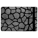 SKIN1 BLACK MARBLE & GRAY LEATHER iPad Air 2 Flip