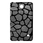 SKIN1 BLACK MARBLE & GRAY LEATHER Samsung Galaxy Tab 4 (8 ) Hardshell Case