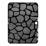 SKIN1 BLACK MARBLE & GRAY LEATHER Samsung Galaxy Tab 4 (10.1 ) Hardshell Case