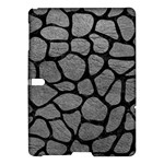SKIN1 BLACK MARBLE & GRAY LEATHER Samsung Galaxy Tab S (10.5 ) Hardshell Case