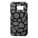 SKIN1 BLACK MARBLE & GRAY LEATHER Samsung Galaxy S7 Hardshell Case