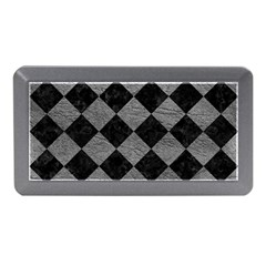 Square2 Black Marble & Gray Leather Memory Card Reader (mini) by trendistuff
