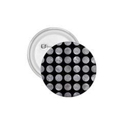 Circles1 Black Marble & Gray Metal 2 1 75  Buttons by trendistuff