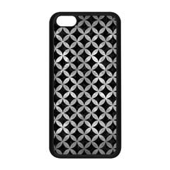 Circles3 Black Marble & Gray Metal 2 Apple Iphone 5c Seamless Case (black) by trendistuff