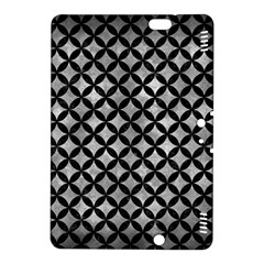Circles3 Black Marble & Gray Metal 2 (r) Kindle Fire Hdx 8 9  Hardshell Case by trendistuff