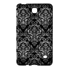 Damask1 Black Marble & Gray Metal 2 Samsung Galaxy Tab 4 (7 ) Hardshell Case  by trendistuff