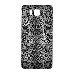 Damask2 Black Marble & Gray Metal 2 (r) Samsung Galaxy Alpha Hardshell Back Case by trendistuff