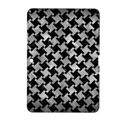 Houndstooth2 Black Marble & Gray Metal 2 Samsung Galaxy Tab 2 (10 1 ) P5100 Hardshell Case  by trendistuff