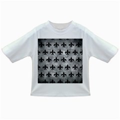 Royal1 Black Marble & Gray Metal 2 Infant/toddler T Shirts by trendistuff