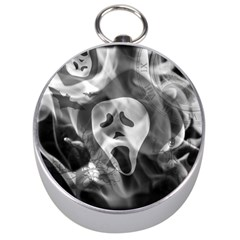 Creepy Halloween Silver Compasses by AllOverIt