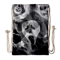 Creepy Halloween Drawstring Bag (large) by AllOverIt