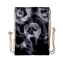 Creepy Halloween Drawstring Bag (small) by AllOverIt