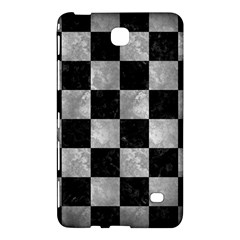 Square1 Black Marble & Gray Metal 2 Samsung Galaxy Tab 4 (7 ) Hardshell Case  by trendistuff