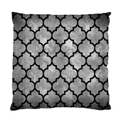 Tile1 Black Marble & Gray Metal 2 (r) Standard Cushion Case (one Side) by trendistuff