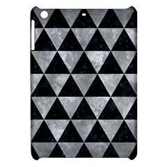 Triangle3 Black Marble & Gray Metal 2 Apple Ipad Mini Hardshell Case by trendistuff