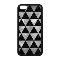 Triangle3 Black Marble & Gray Metal 2 Apple Iphone 5c Seamless Case (black) by trendistuff