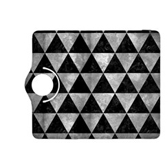 Triangle3 Black Marble & Gray Metal 2 Kindle Fire Hdx 8 9  Flip 360 Case by trendistuff